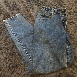 Vintage buttonfly mom jeans pepe jeans size 32